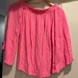 XS Lily Pulitzer Off Shoulder Top